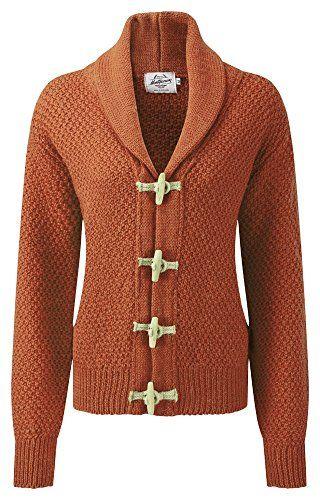 Womens Toggle Cardigan Burnt Orange Sweaters For Fall Pinterest