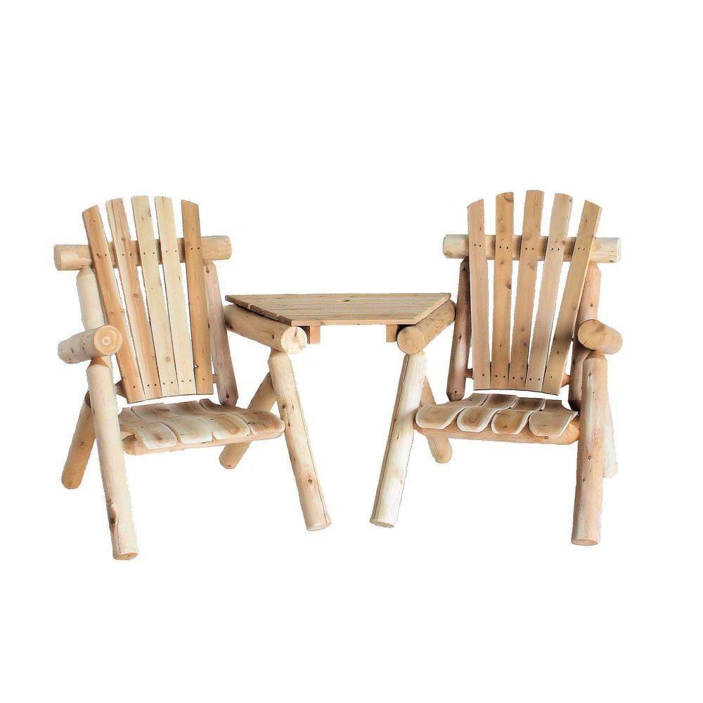 Lakeland Mills Vis-A-Tete Patio Chair Set-CFU329 - The Home Depot ...