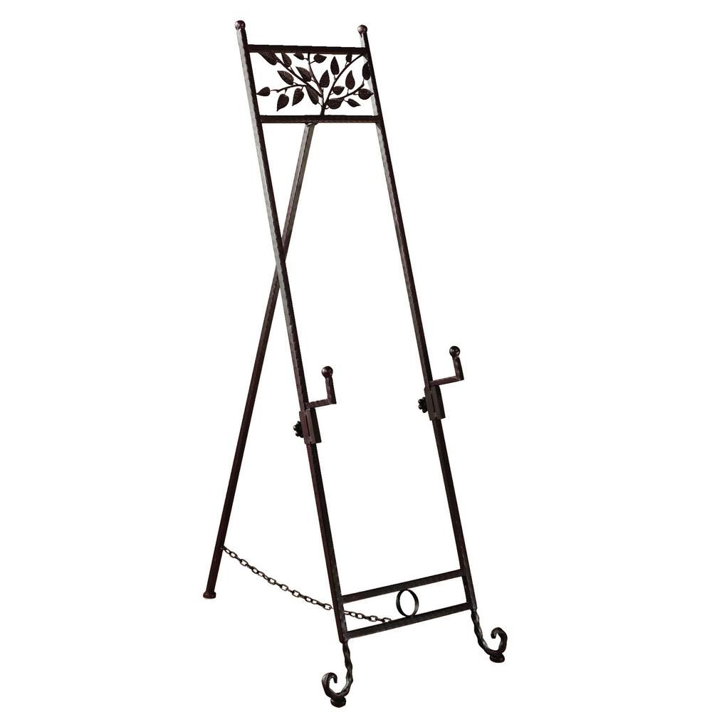 Tripar International Floor Easel With Natural Accents And