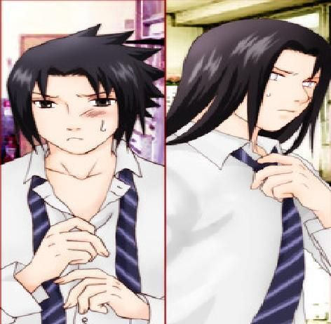 English Naruto Konoha High School | adore Sasuke il est trop beau et Neji aussi (mais moins^^)