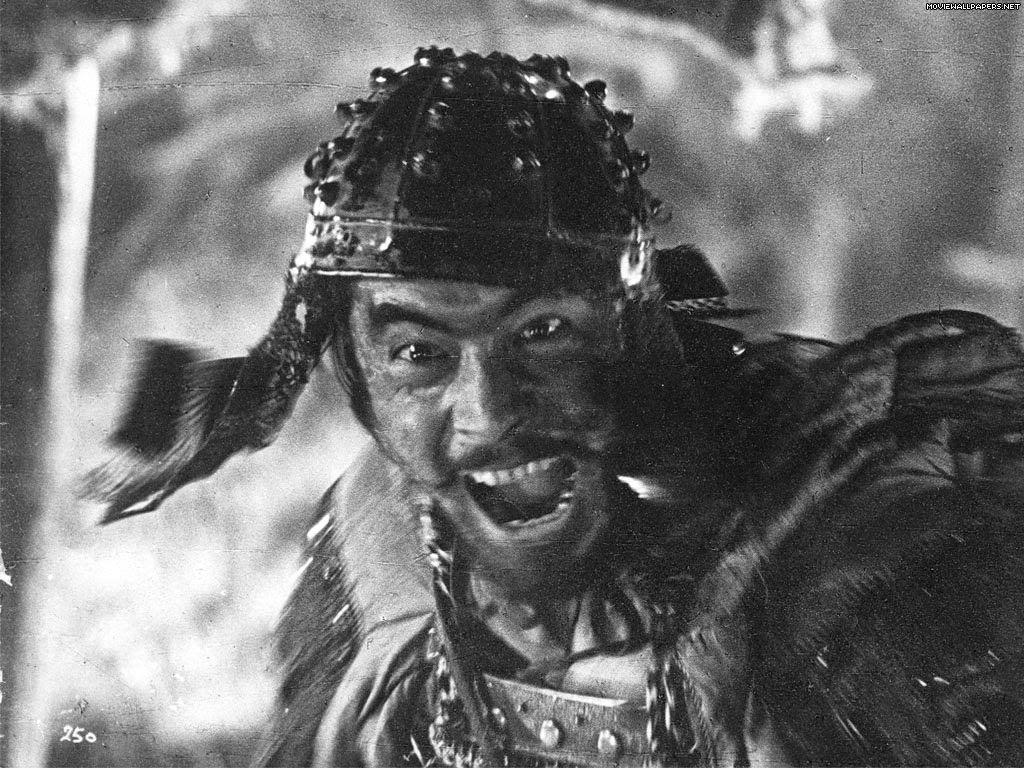Los siete samuráis (Shichinin no samurai, 七人の侍), dirigida por Akira Kurosawa en el año 1954