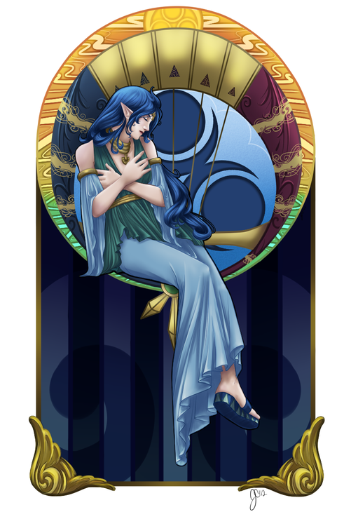 Nayru, Goddess of Wisdom - The Legend of Zelda: Oracle of Ages | The