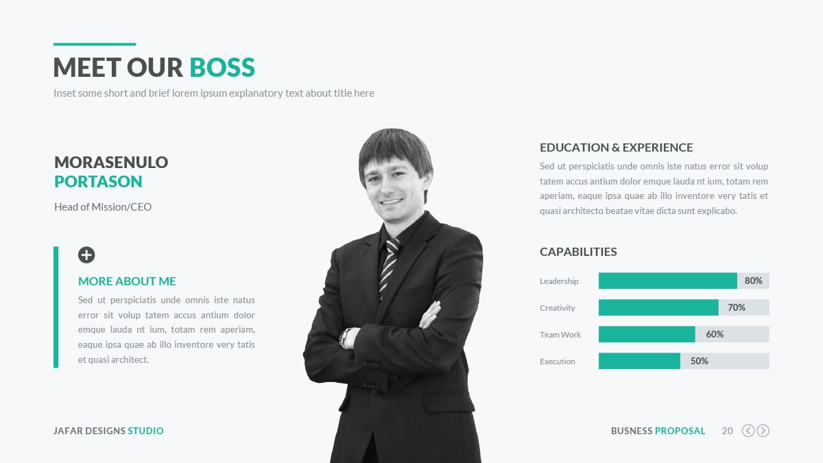 Business Proposal PowerPoint Template Business proposal