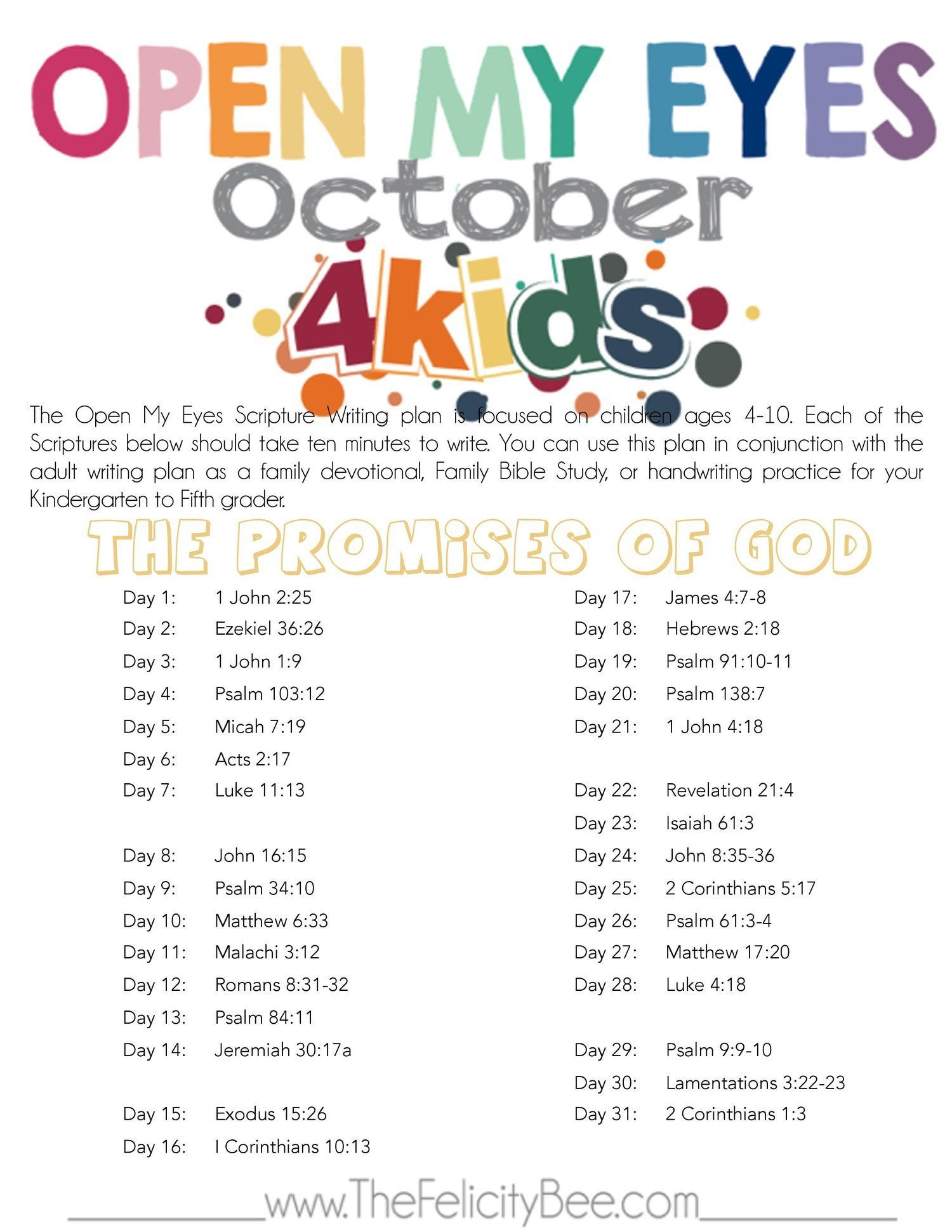 CLICK HERE to download your PDF of this month's plan
