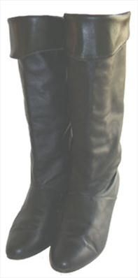 50b0318faced2 Flat Black 80s Pirate Boots   Shoes   Pinterest   Boots, Flats and Shoes