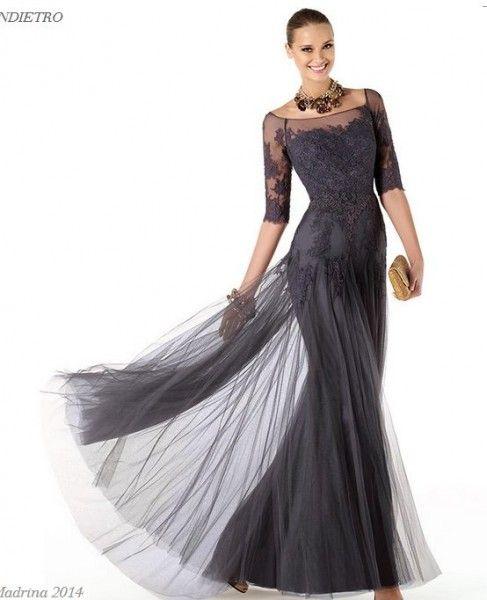 Gobernador Paisaje flauta  Abiti da cerimonia pronovias outlet online | Evening dresses, Mother of the  bride dresses, Gowns dresses