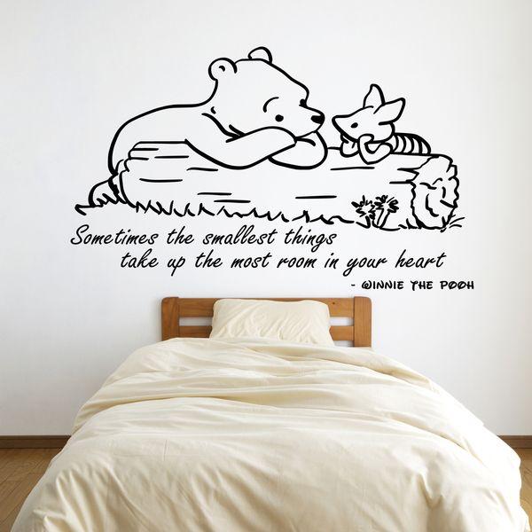 Winnie The Pooh Muursticker.Winnie The Pooh Muursticker Sticker Vinyl 3 Van G Direct Op Dawanda