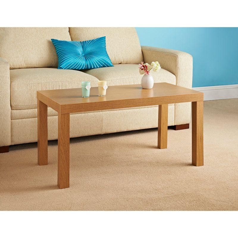 croft coffee table clean oak effect occasional furniture oak