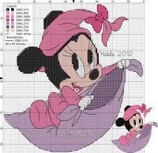 Minnie Punto Croce Piccolo Cerca Con Google Cross Stitch Mickey