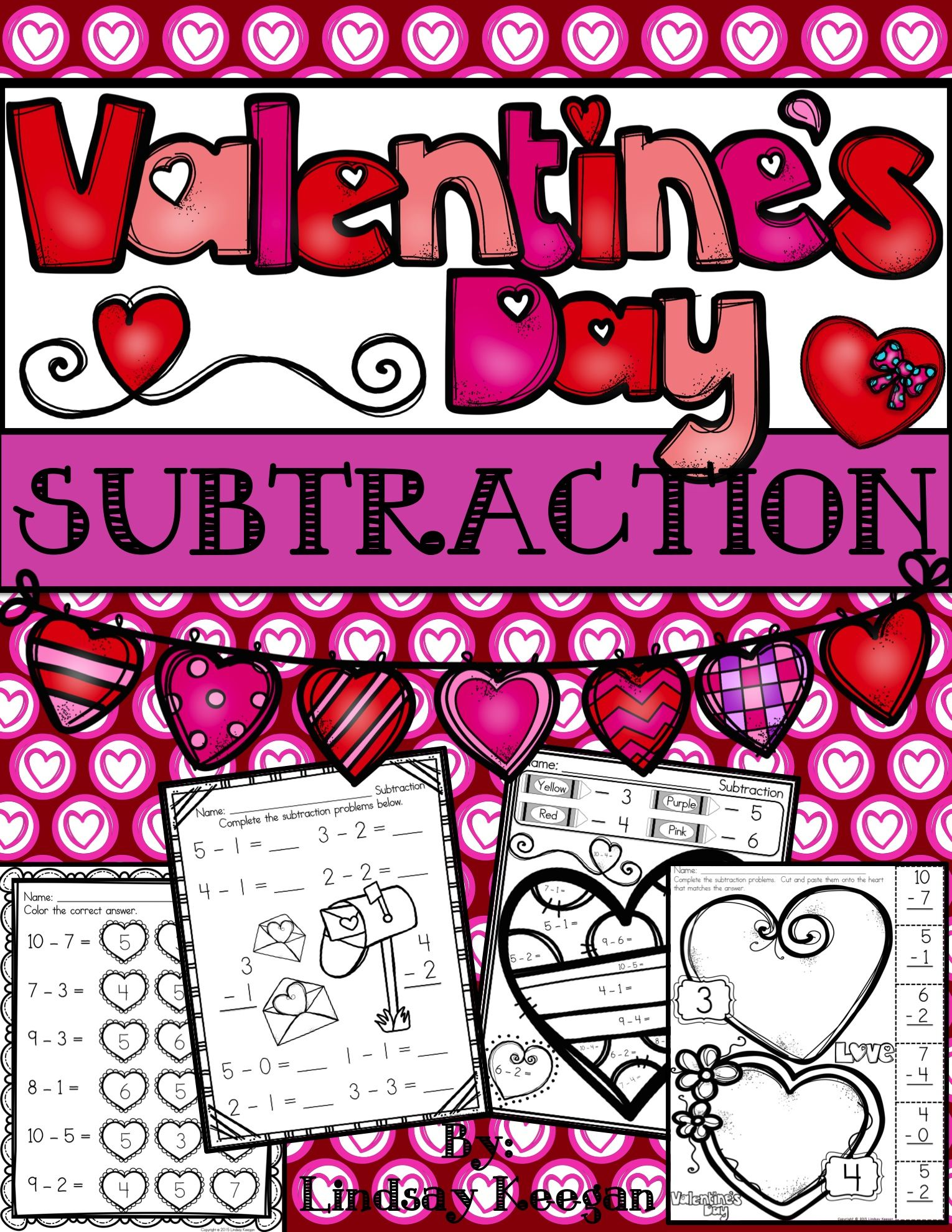 Valentine S Day Subtraction