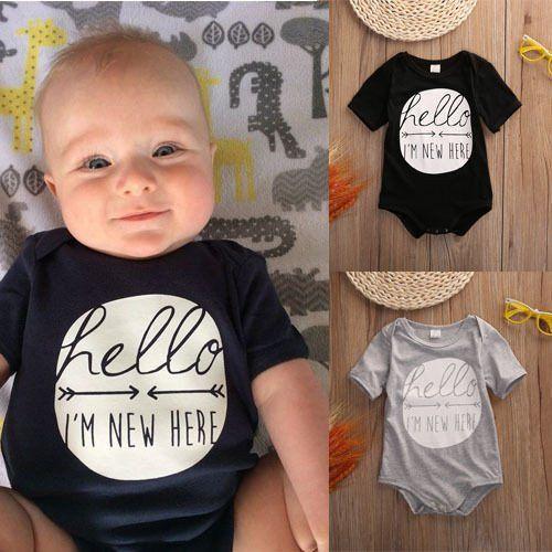 Name IT NOS Baby-Jungen Rompers