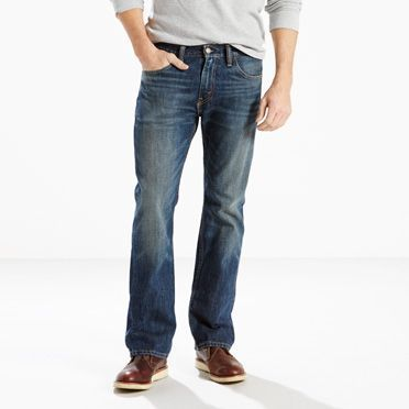 Levi's 501 Original Fit Ripped Svart Jeans Herre