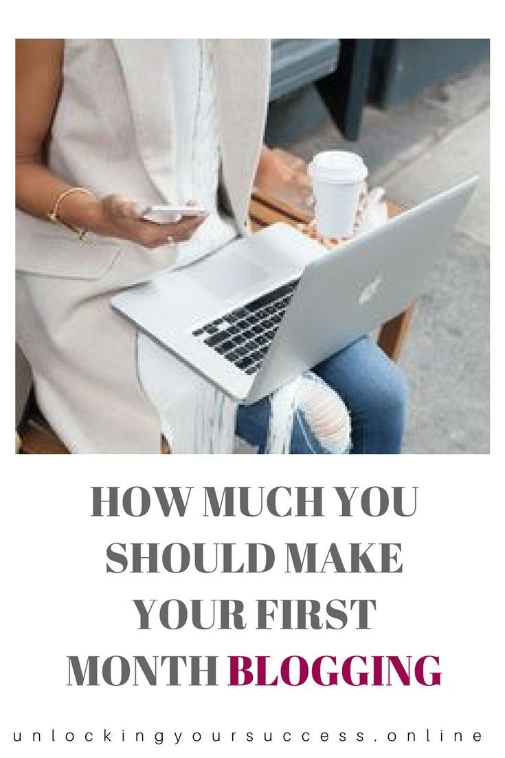 How much you should make your first month blogging boost