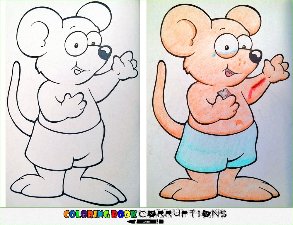 15 Crazy Coloring Book Corruptions Pic