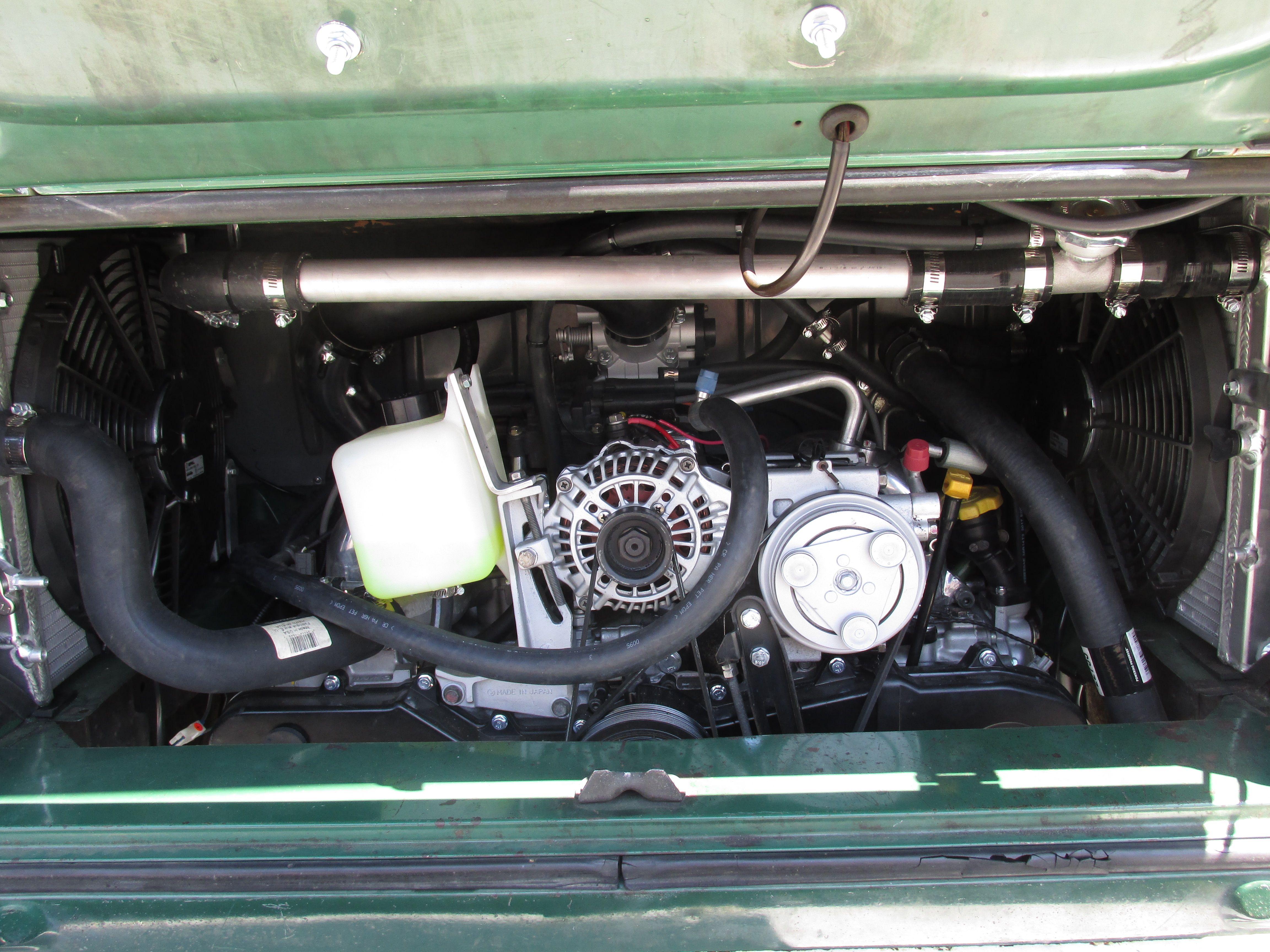 SubiSwaps Subaru engine conversion in a 1971 VW Bus  #conversion