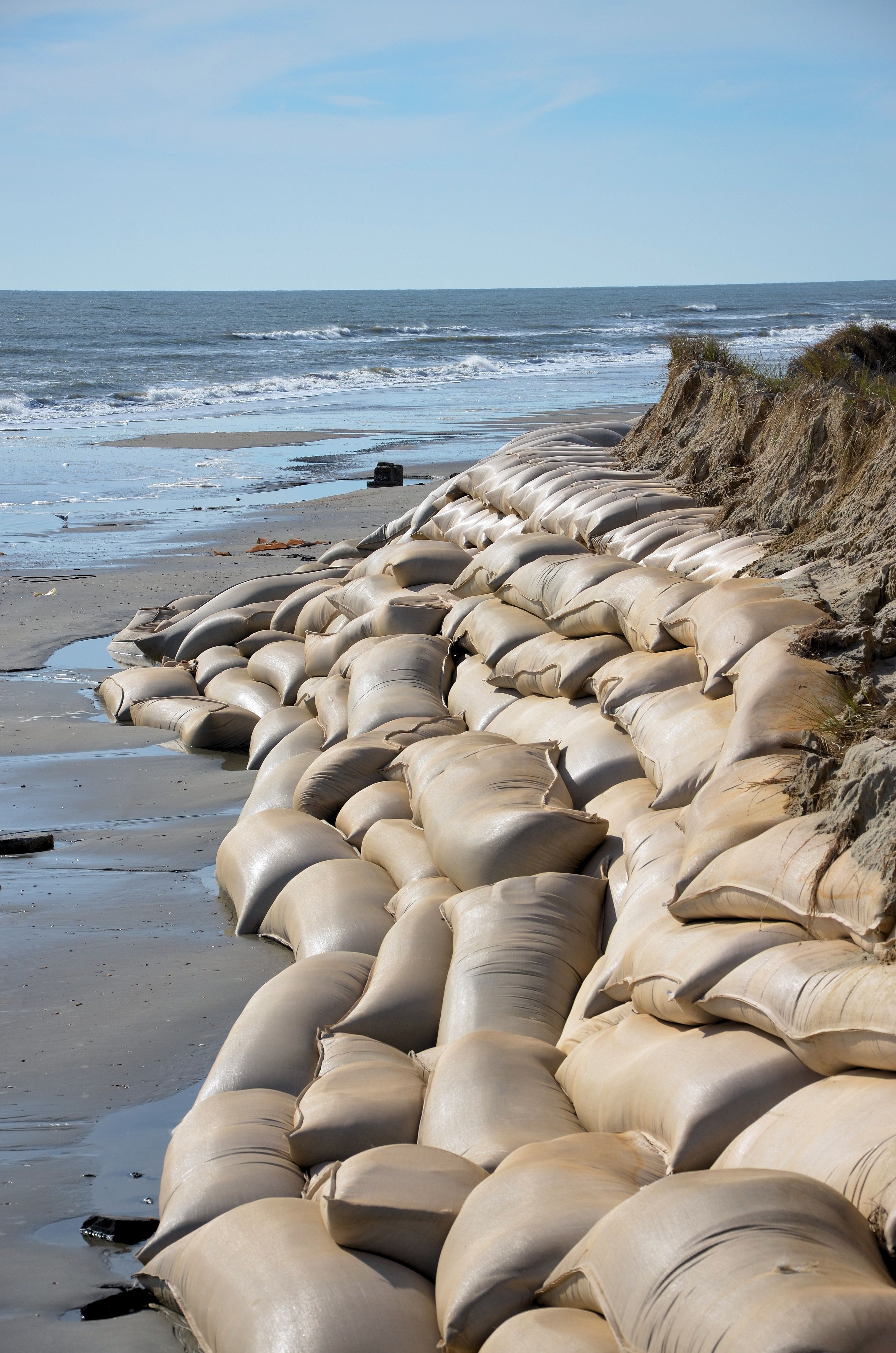 Our Sandbags Can Be Used For Coastal Defence Preventing Erosion And Flooding Sandbags For Flooding Bulk Sand Erosion