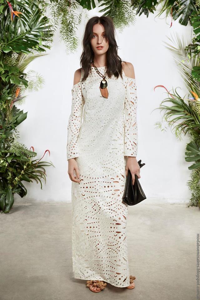 Vestidos largos moda mujer primavera verano 2017 María Cher. 4caae5d1b72