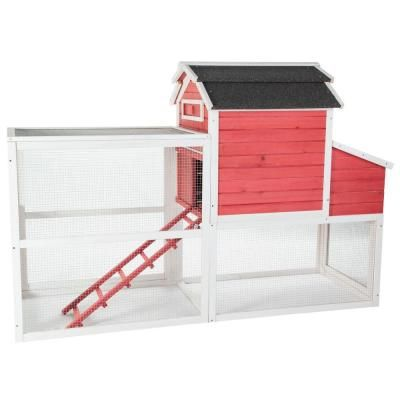SummerHawk Ranch Vintage Red Barn Chicken Coop-33554 - The Home Depot