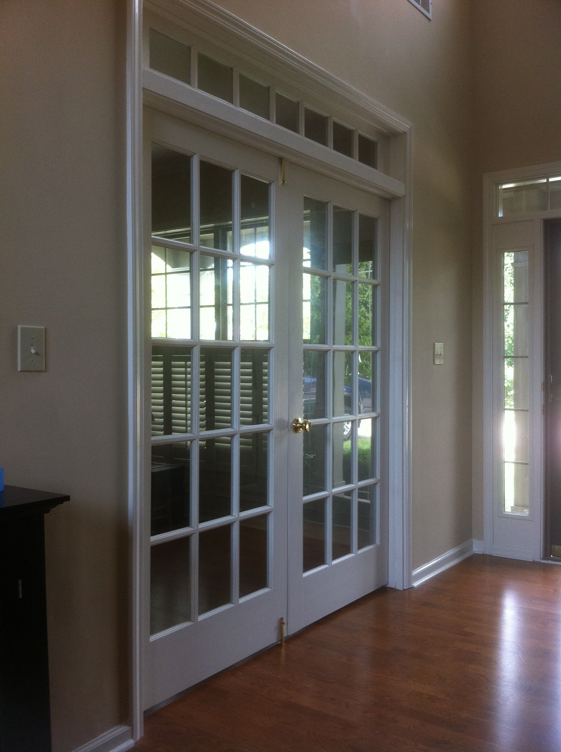 Home Office French Doors Near Entry This Is Pretty Much Exactly