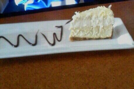 Yummy, cheesecake