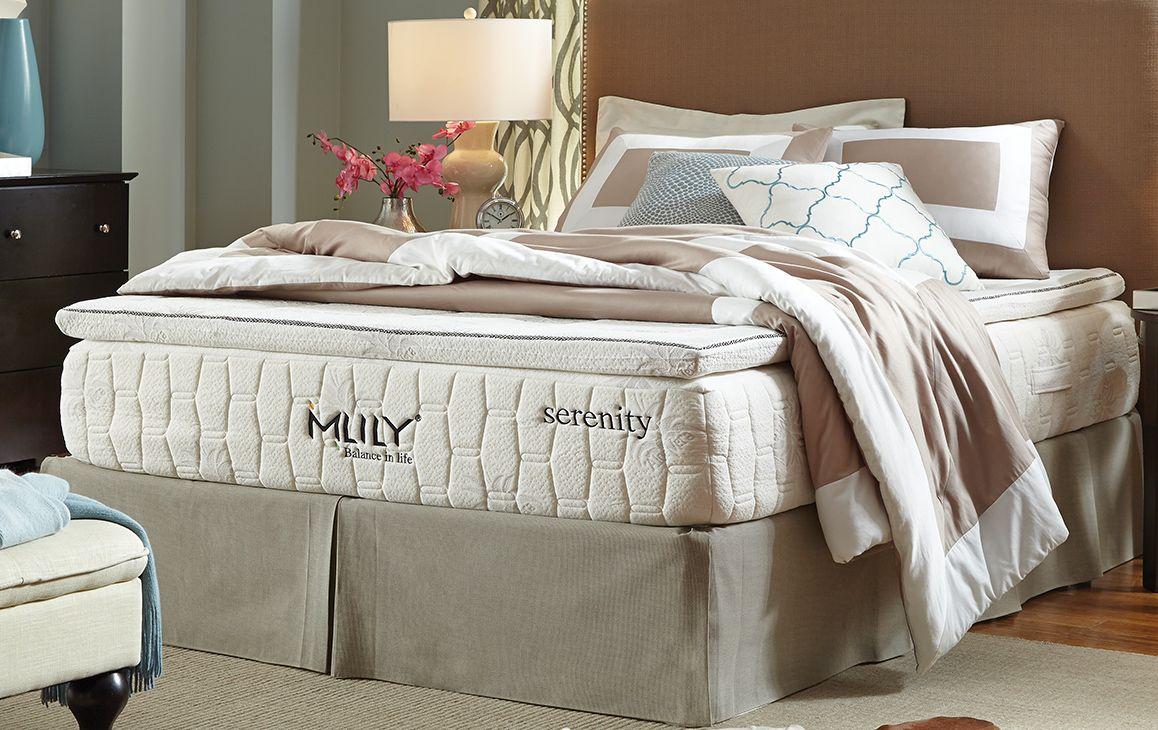 Serenity Mattress by Mlily King mattress, Plush pillows