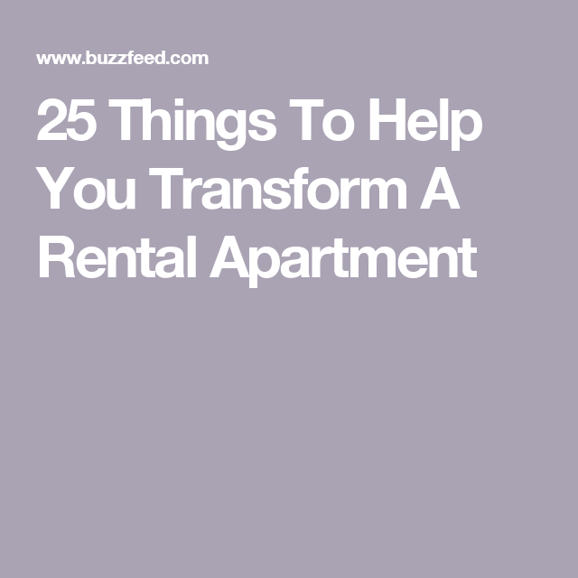 Apartments For Rent East Denver: 25 Things To Help You Transform A Rental Apartment