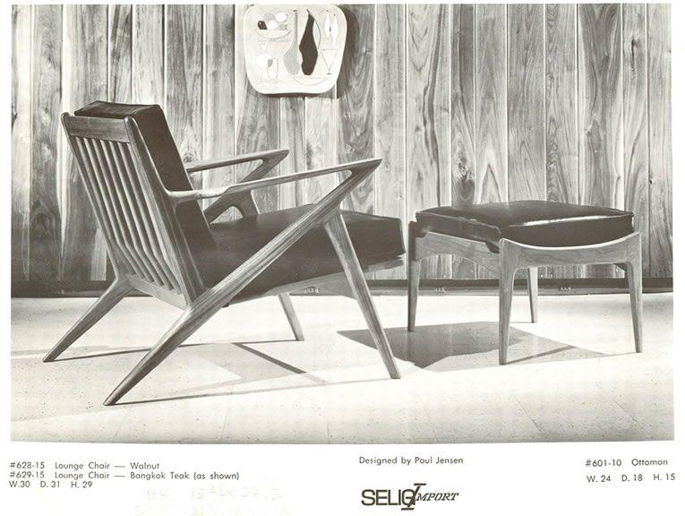 Does A Danish Furniture Designer Poul Or Paul Jensen Really Exist