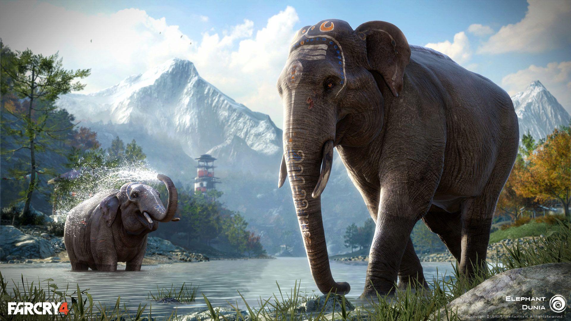 Far Cry 4 Wallpaper Elephant