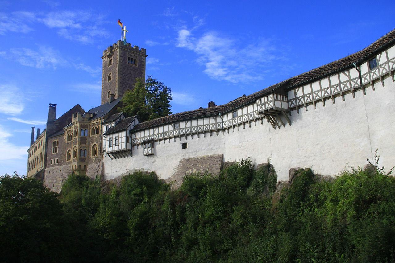 Castle Wartburg Castle Eisenach Luther Castle Wartburgcastle Eisenach Luther Beautiful Castles Castle Visit Germany