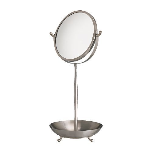Etonnant LILLHOLMEN Table Mirror IKEA One Side With Magnifying Mirror.  Water Resistant; Suitable For