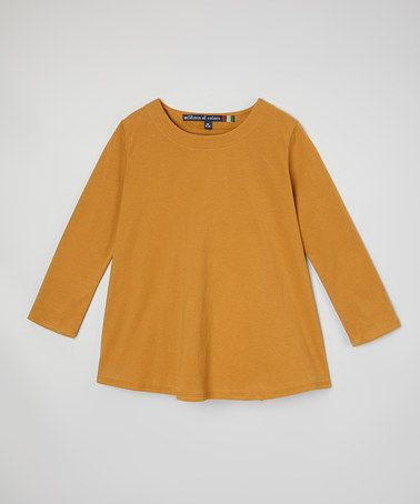 Look what I found on #zulily! Nutmeg Belted Tunic - Girls by Millions of Colors #zulilyfinds