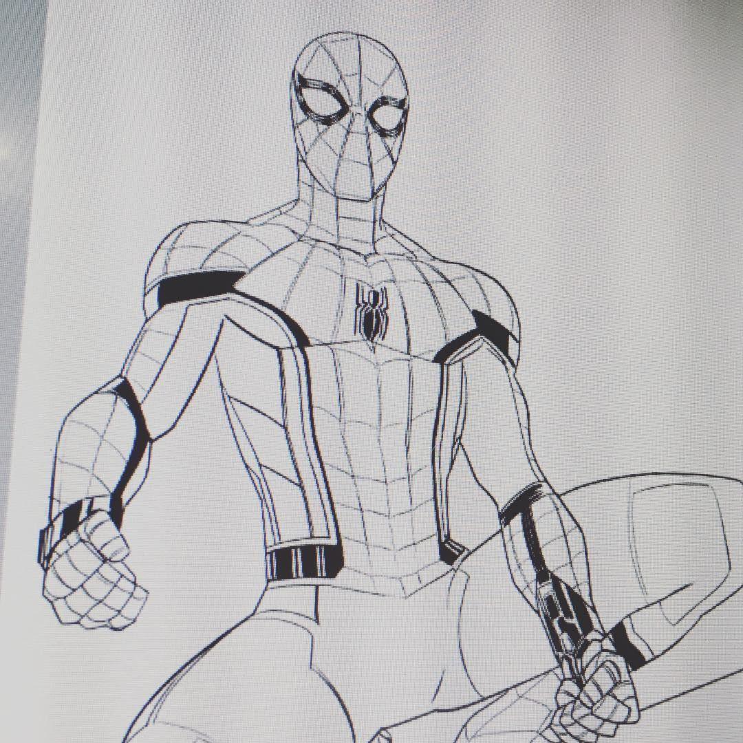 Spidermanhomecoming Spiderman Wip Marvel Drawings Marvel