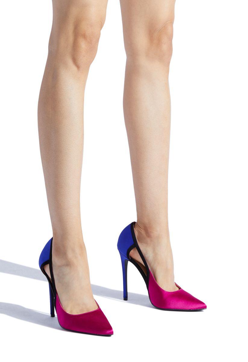 bf9a4675b7b ISABELLA COLORBLOCK CUTOUT PUMP - ShoeDazzle Extreme High Heels