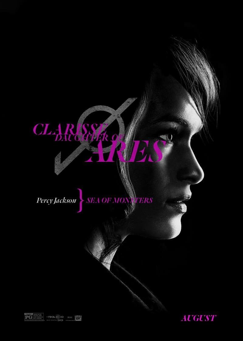 PERCY JACKSON SEA OF MONSTERS Clarisse Character Poster