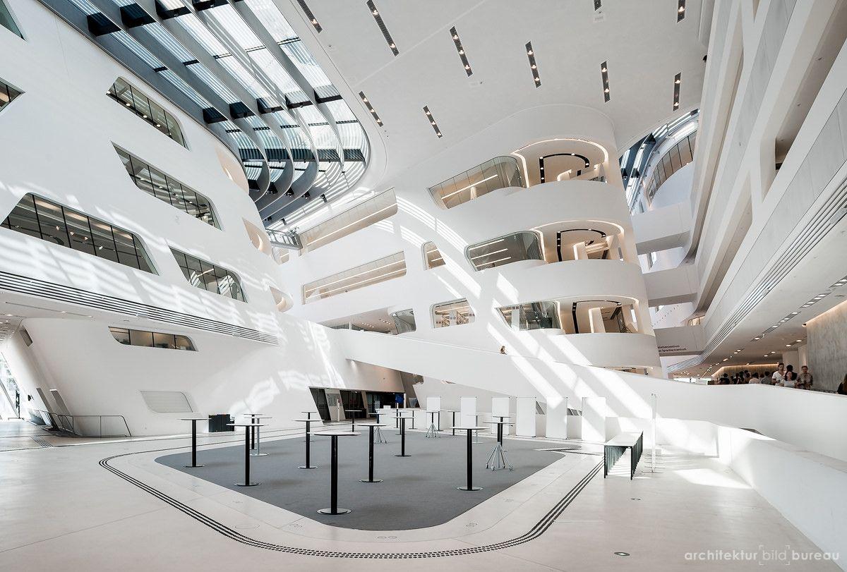 Wirtschaftsuniversität Wien architektur bild bureau