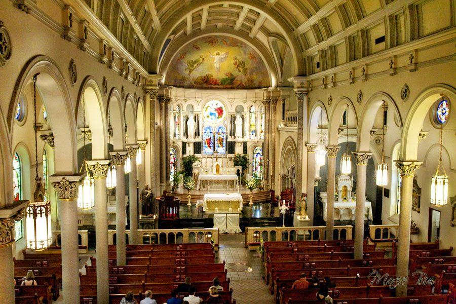Annunciation Catholic Church in Houston TX