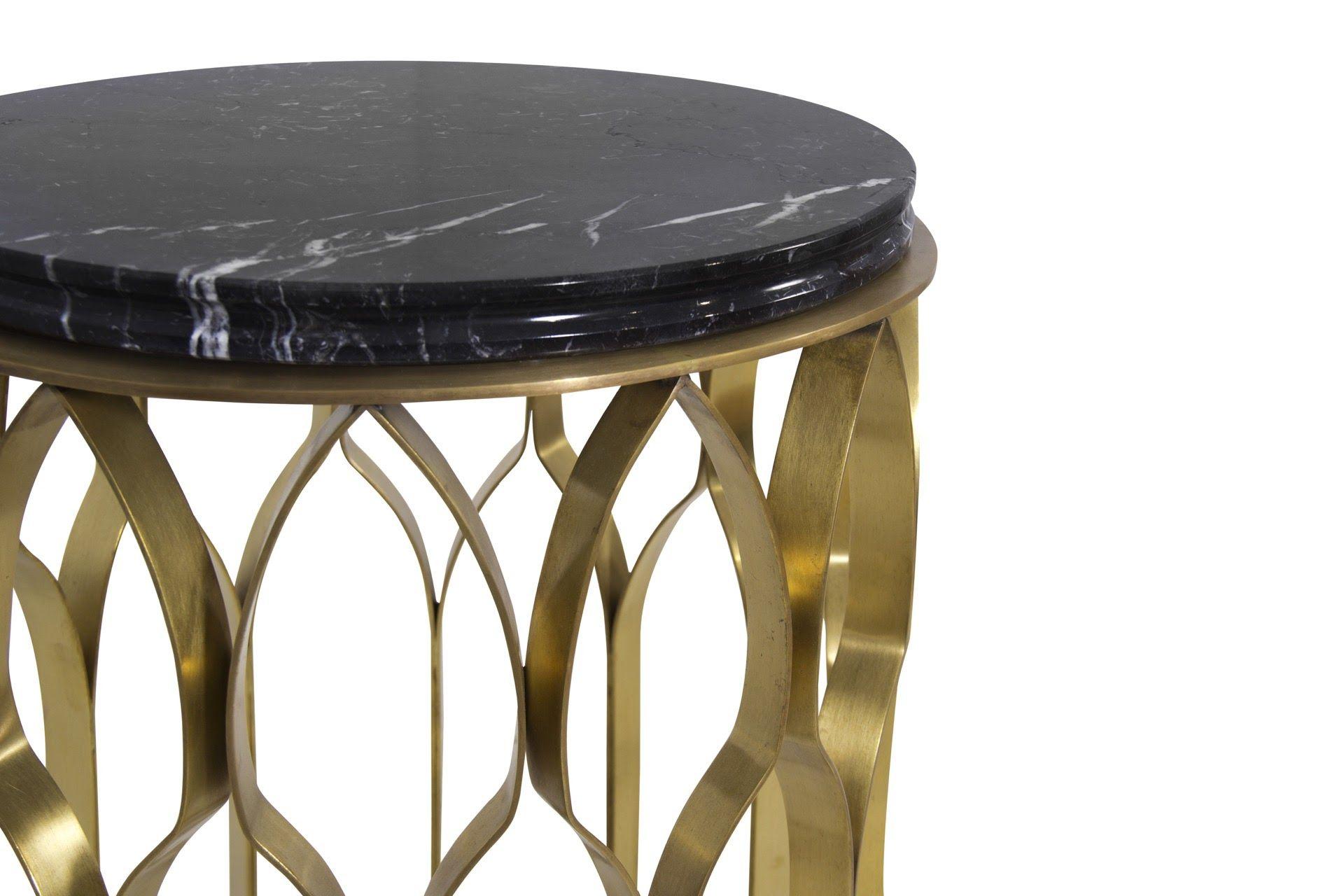 MECCA Side Table Brabbu materials Details
