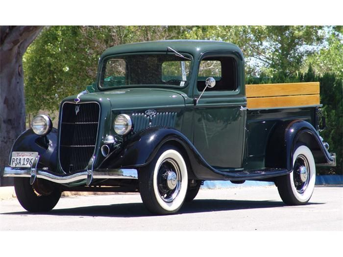 Photo Gallery   ClassicCars.com   1935 Ford Pickup