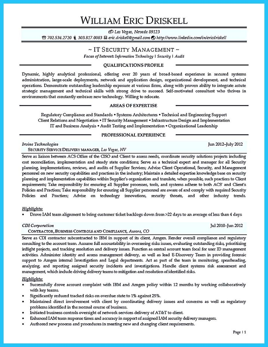 Auditor Resume Nice Making A Concise Credential Audit Resume Check More At Http