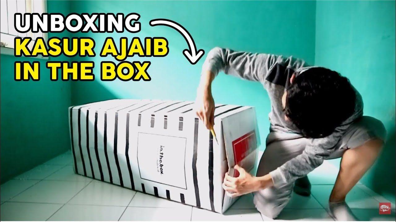 Unboxing Kasur Ajaib In The Box Ukuran 120x200 Awalnya Kecil Setelah Di Pengukur Kemewahan