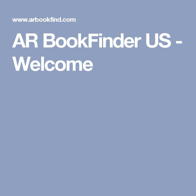 Ar Bookfinder Us Welcome Computer 3rd Grade Pinterest