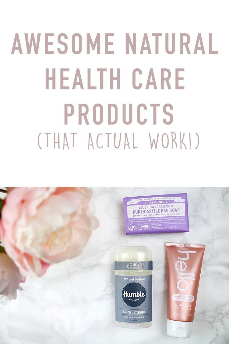 Natural health care products
