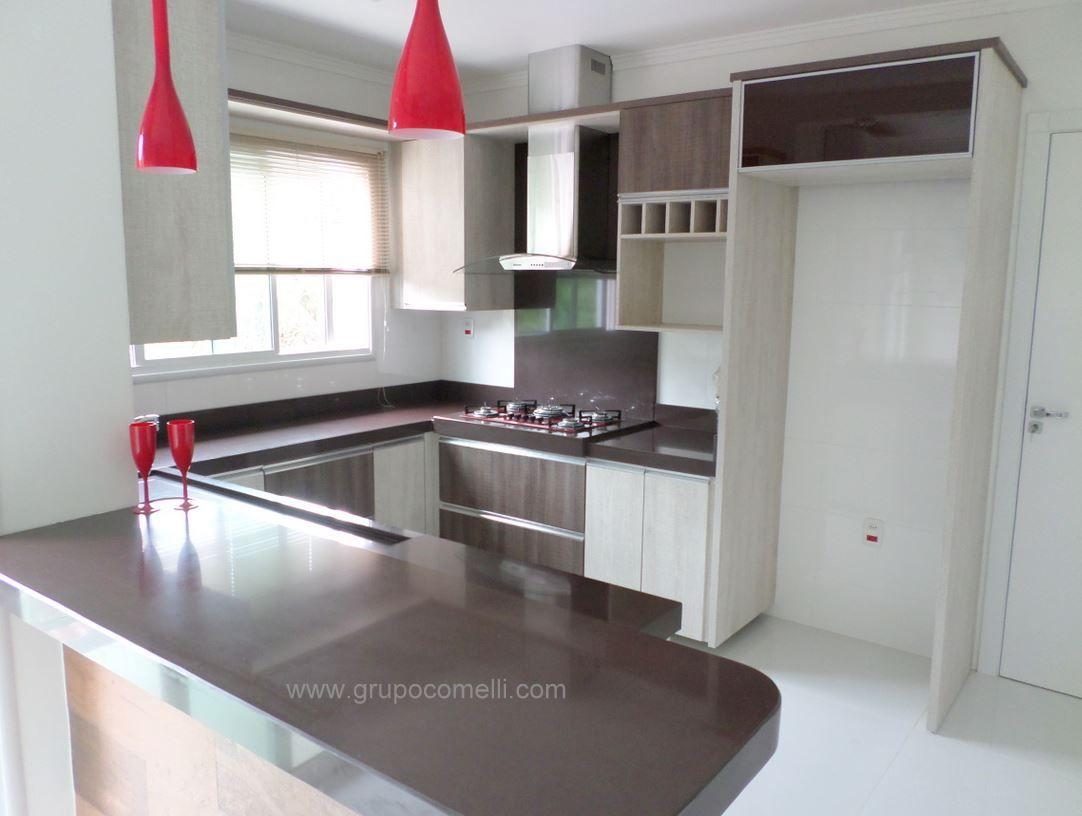 Cozinha Com Granitos Marrom Absoluto Decora O Pinterest  ~ Cores De Marmores Para Cozinha
