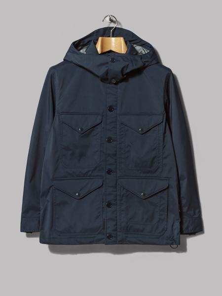 Beams Plus Windstopper Mackinaw Jacket (Dark Navy