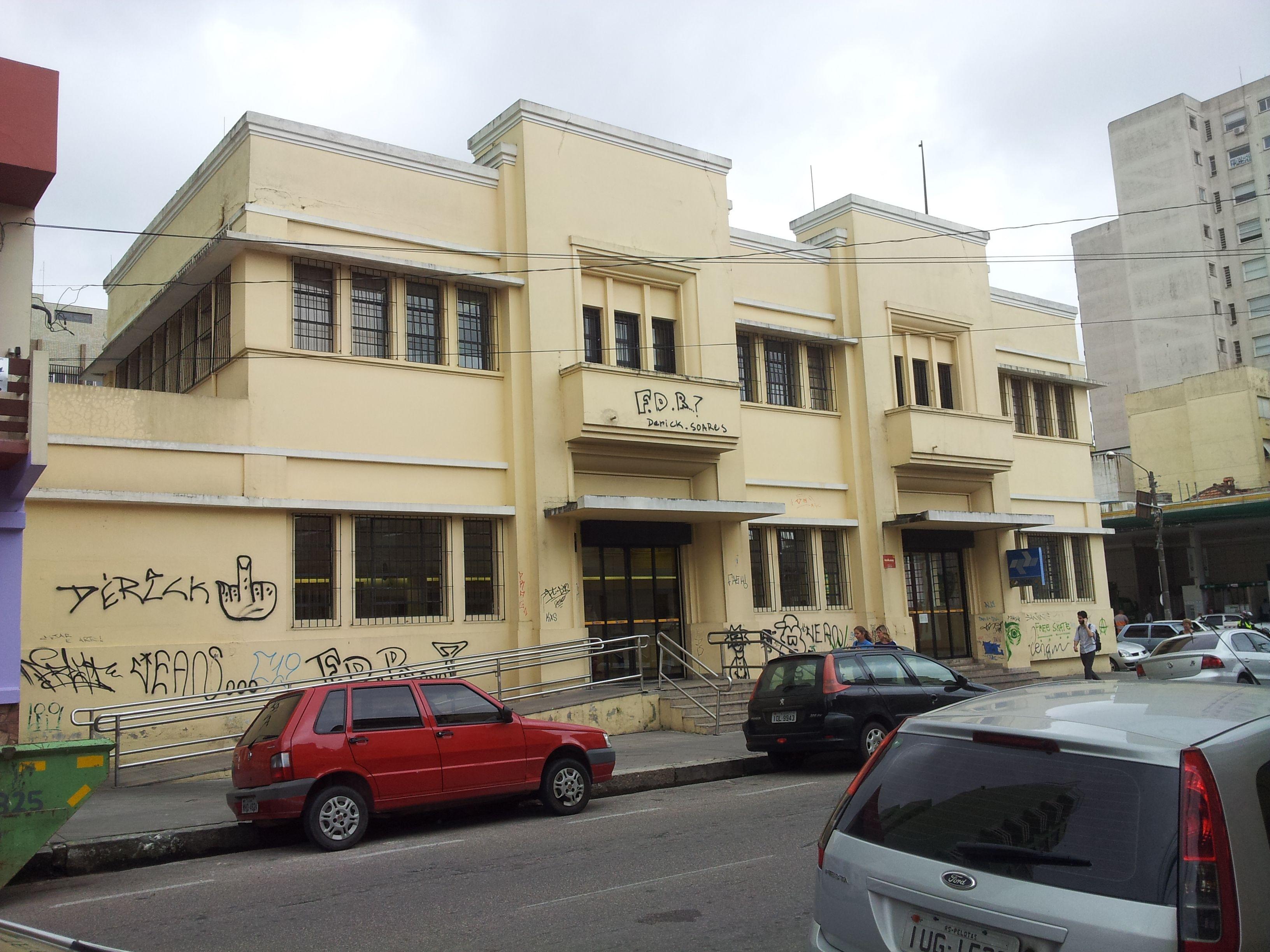 Percepção: Marco - central dos correios, rua Félix da Cunha ...