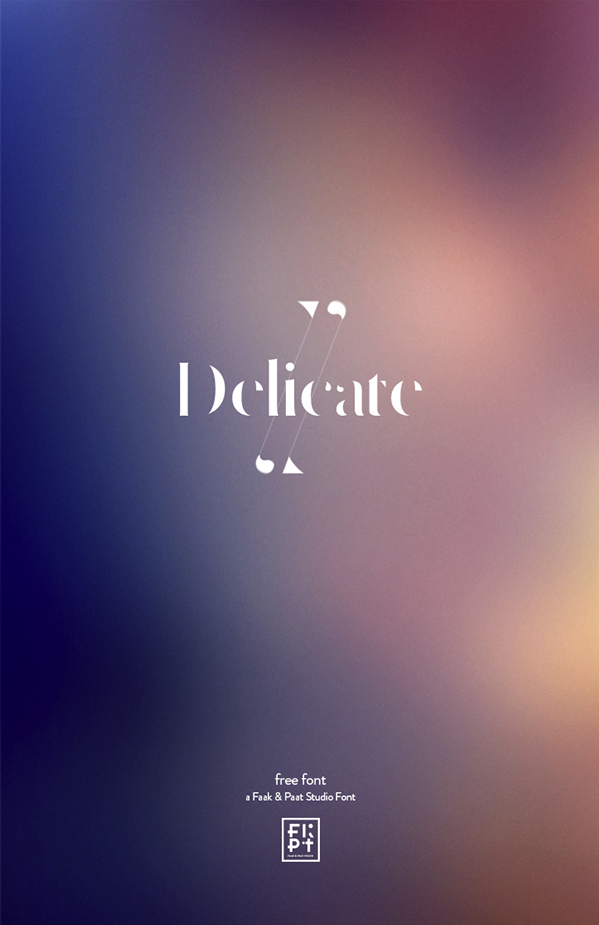 https://www.behance.net/gallery/21610837/Delicate-free-typeface