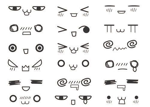 Wondrous Japans Greatest Contribution The Emoticon Meh Pinterest Hairstyles For Women Draintrainus