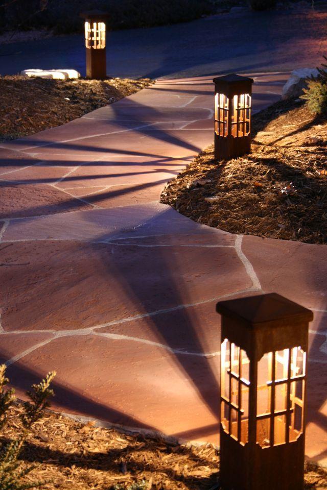 A Great Alternative To Ordinary Blah Path Lights
