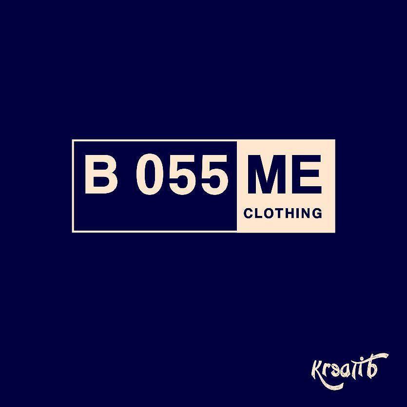 """B055ME Clothing""  #clothing #tshirt #logo #design #branding #concept #designer #creative #innovation #idea #bussines #bisnis #jasa #company #houseofcreative #creativeisourculture #cioc #kreatib #indonesia #art #typography #colors by kreatib"