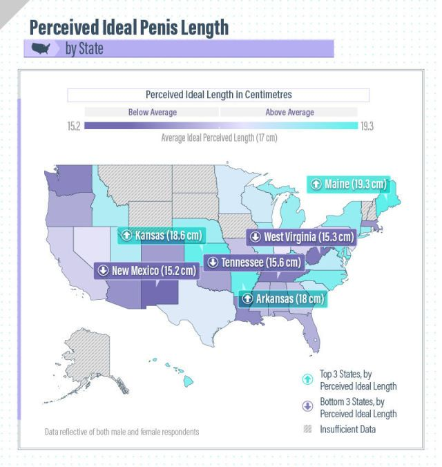 The Ideal Penis Size, According To Different Countries Around The World